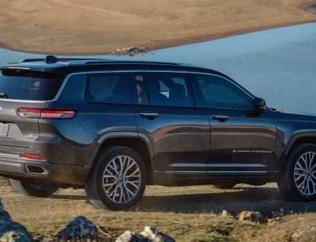 در اینجا جیپ Grand Cherokee L جدید ، یک وسیله نقلیه 7 نفره آفرود است