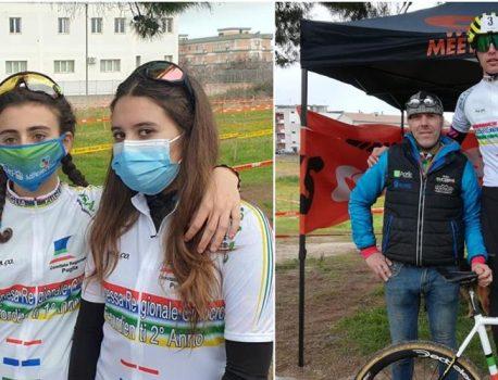 Cyclocross در کوراتو ، رضایت و تشویق برای قهرمان جدید منطقه FCI Puglia